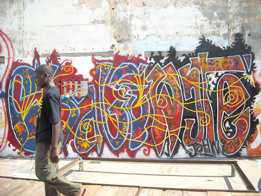 The Chale Wote street art festival, and a discussion on local tourism for James Town