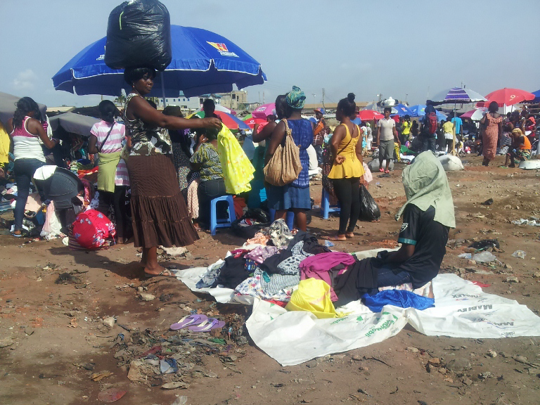 Traders and mayor differ on approach to build a modern Kantamanto after fire