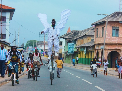 Reblog: In Accra, an art festival capitalizes on streetscape as public space in Jamestown