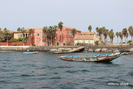 A view of Gorée Island, an island just off the coast of Dakar, Senegal, home to the House of Slaves and a small indigenous local economy.