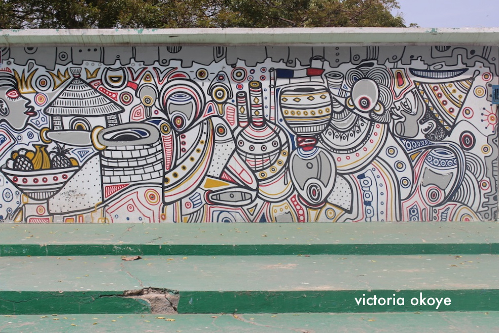Dakar: Who wouldn't love a city with all this graffiti and wall art?