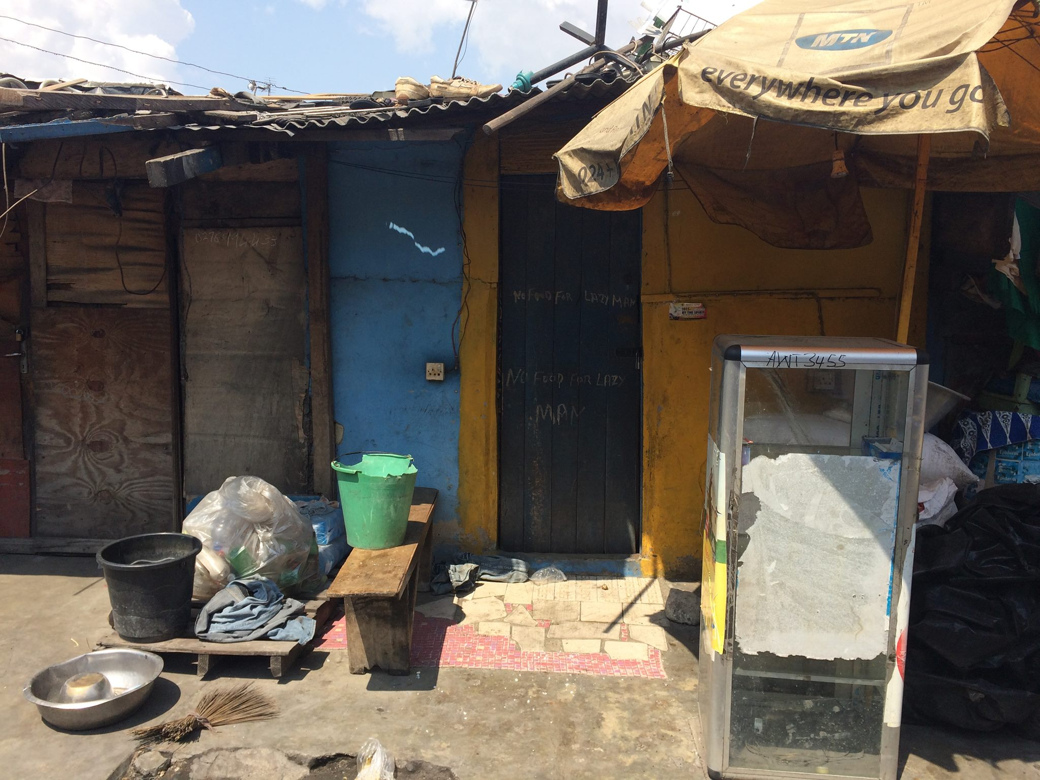 Money in a slum: the logic of small gains